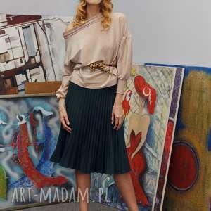 Plisowana spódnca z półkola w r. 34-42 16 kol., plisowana, solejka, street-fashion