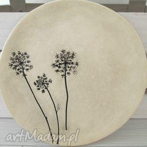 roślinny talerz , ceramiczny, ekologiczny, patera, ceramiczna dom