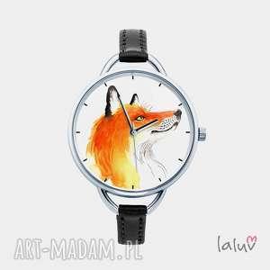 Prezent Zegarek z grafiką LIS, prezent, lisek, las, cwaniak, rudy, spryciarz