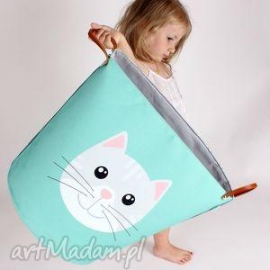 hand made pokoik dziecka ogromny pojemnik z kotem