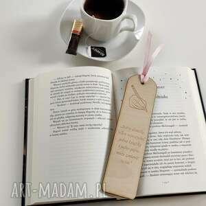 zakładki drewniana zakładka do książki prezent dzień nauczyciela