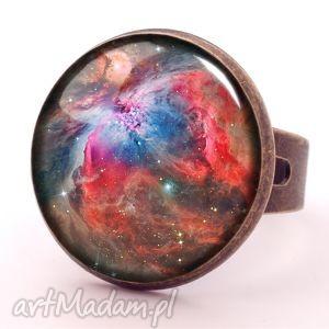 orion nebula - pierścionek regulowany - nowoczesny, galaxy