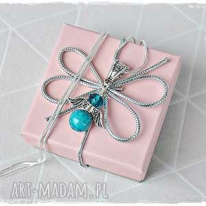 prywatny anioł stróż - naszyjnik, anioł, wisior, prezent, mikołaj