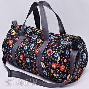 handmade podróżne torba podróżna wodoodporna podręczna, na basen siłownię, sportowa