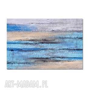 Delta n2, abstrakcja, nowoczesny obraz ręcznie malowany