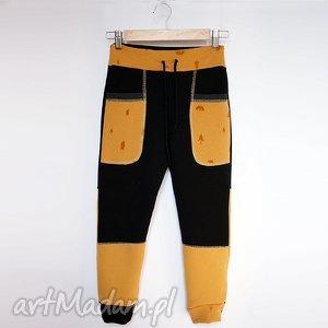 ONLY ONE No 004 - spodnie dziecięce 134 cm, dres, spodnie, eco, recykling, bawełna
