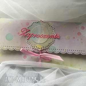 oryginalny prezent, papierowa kraina zaproszenia dla dziecka, zaproszenie