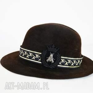dodatki czekoladowa fedora, kapelusze, brąz, czekolada, świąteczny