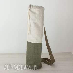 bawełniany worek / pokrowiec na matę - zamówienie małgosi, joga, pilates, sport