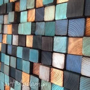 mozaika drewniana - na zamówienie, obraz, rustykalny, rystykalna, vintage