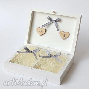 Prezent Pudełko na obrączki ślubne, pudełko-na-obrączki, ślub, wesele, dekoracje,