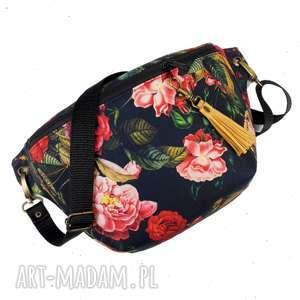 zapetlona nitka nerka xxl róże, nerka, vintage, romantyczna, zapętlonanitka