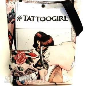 torba tattoogirl, pojemna, torba, święta