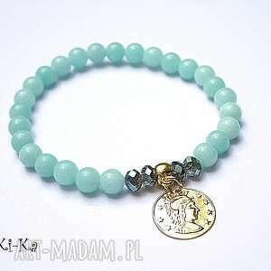 blue coin, jadeity, kryształki, moneta, delikatna