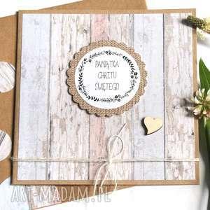 Pamiątka Chrztu Świętego :: kartka handmade, chrzest, chrzciny