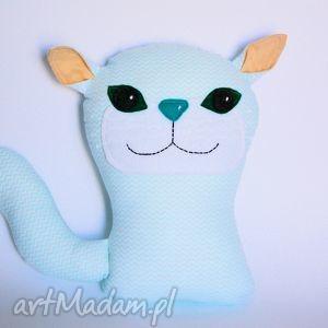 kot - koteł turkusek - 27 cm - kot, poduszka, zabawka, maskotka, dziecko, przytulanka