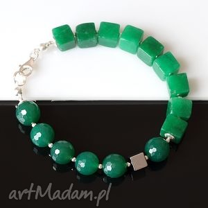 ręcznie wykonane zielona
