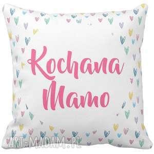 poduszka dekoracyjna na prezent kochana mamo mama dzień matki mamy 6783, dzień