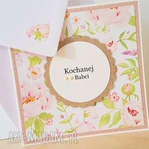 handmade scrapbooking kartki kochanej babci