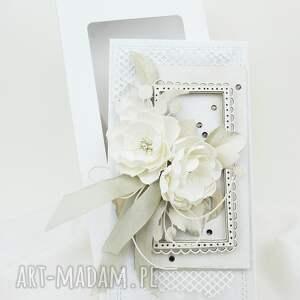 kartka w kremie pudełku, komunia, gratulacje, ślub, życzenia, rocznica, para