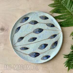 talerz / patera łezki, ceramiczny, patera, ceramika ozdobna, naczynia