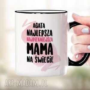 Prezent Najlepsza, najpiękniejsza Mama na Świecie - kubek ceramiczny z nadrukiem