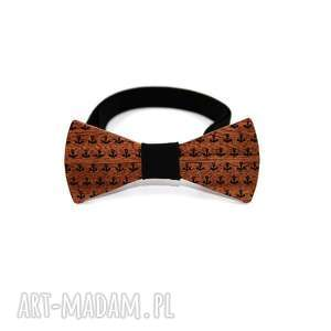 Muszka drewniana #8 muchy i muszki the bow ties drewno, mucha,
