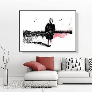 Portret... art print, a4, grafika, plakat, kobieta, obraz