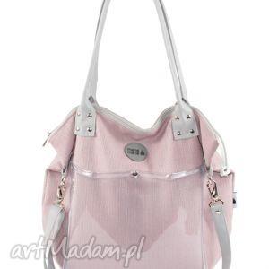 ba3abc20f79fe8 Różowe torebki na ramię ręcznie robione.158 zł torba studencka worek rasp,  worek, folia, pojemna, prezent, mana-mana