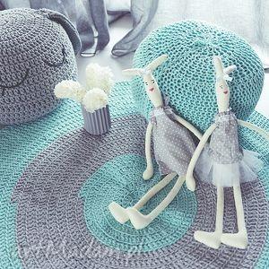 hand-made pokoik dziecka dywan kolorowy