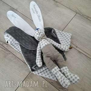 dla dziecka zestaw na chrzciny lub narodziny, królik
