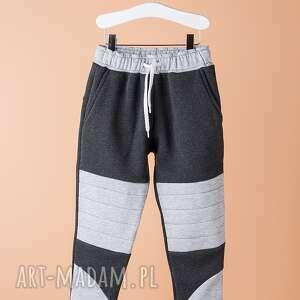 spodnie chsp10g, bawełniane, łatki, modne, kolorowe, świąteczny prezent