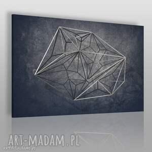 obraz na płótnie - geometryczny loft industrialny 120x80 cm 71501
