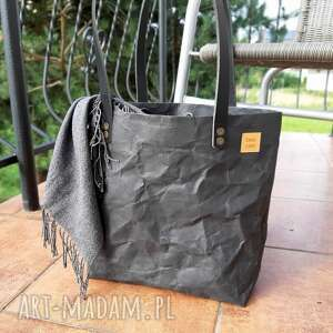 wyjątkowe prezenty, torba z papieru blackpaper, torebka washpapy, washpapa