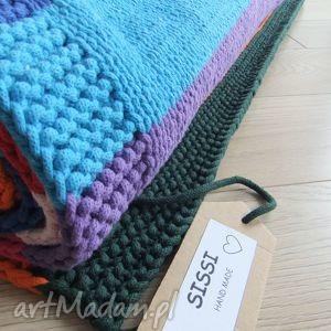 DYWAN Z BAWEŁNIANEGO SZNURKA, dywan, kolorowy, sznurkowy, bawełniany
