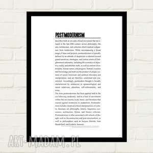 Postmodernism Plakat 30x40, plakat