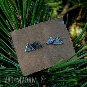 kolczyki z górami, góry, srebrne, tatromaniak