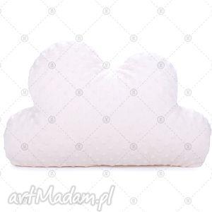 hand-made pokoik dziecka kremowa chmurka minky makaszka