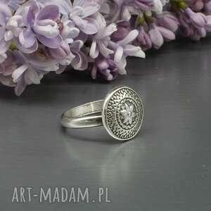 srebrny pierścionek lanilor, pierścionek, ze srebra, oksyda, ciemne
