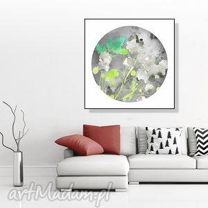 grafika w świetle księżyca 30x30 cm, grafika, plakat, natura, kwadrat, 30x30, obraz