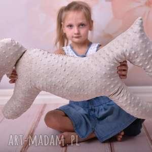 poduszka dziecięca koń, przytulanka minky, maskotka, dla dziecka