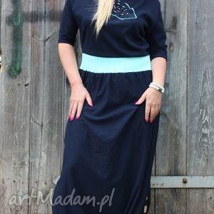 Dream blue-spodium, kombinezon sukienki ququ design spodium