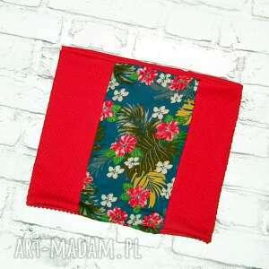 galavena hawajskie opowieści - piękny kolorowy komin, szal, dwustronny, modny