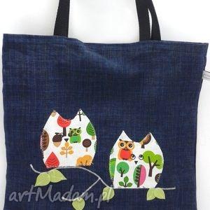 Arttorba eko sówki na ramię artmoda torby, torebki, zakupy,