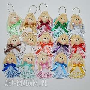 Święta prezent? Małe serduszka - aniołki z masy solnej dekoracje