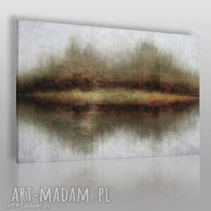 obrazy obraz na płótnie - nowoczesny brązy 120x80 cm 70801, nowoczesny, abstrakcja
