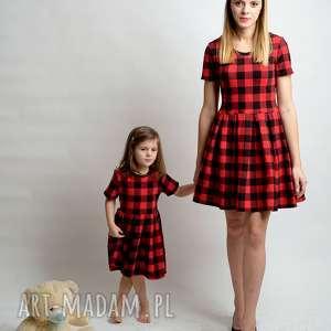 handmade komplet sukienek kratka