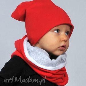 wiosenna czapeczka bawełniana czerwona, bawełna, czapka, wiosna, czerwona