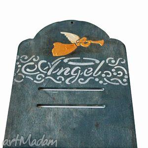angel, kalendarz, relief, anioł