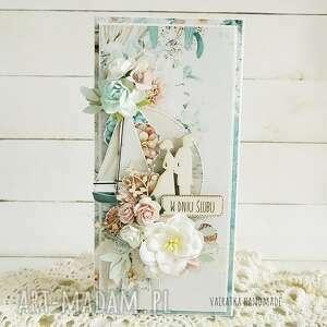 kartka ślubna w pudełku 687, wesele